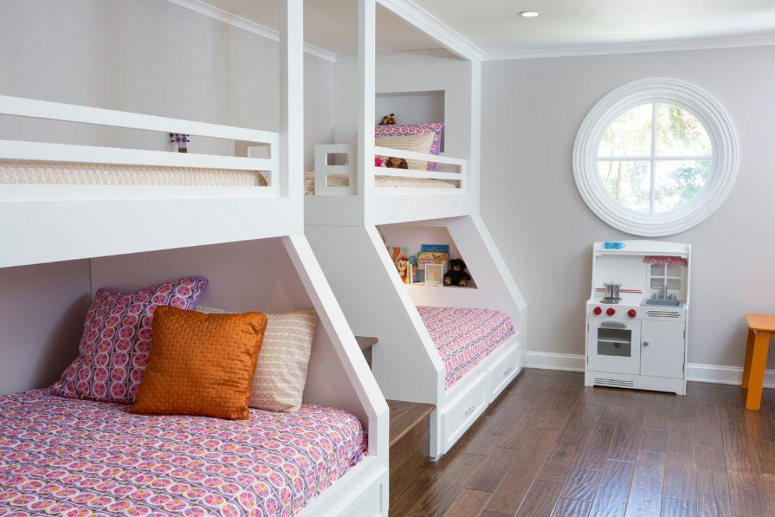 Отделить спальное место для ребенка фото