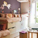 дизайнерское решение детской комнаты для двоих детей