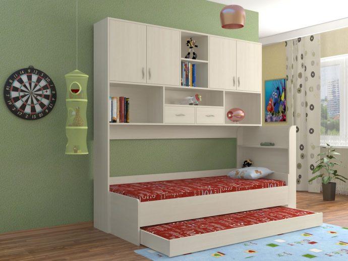 интерьер детской спальни для двойняшек