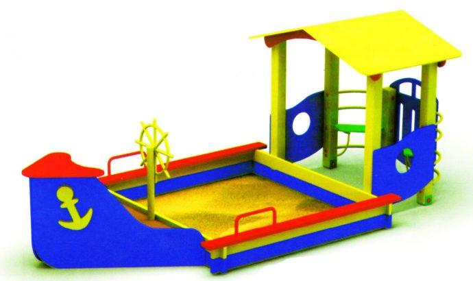 идея песочницы на даче с бортиками