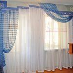прозрачные шторы в спальню в интерьере спальни фото