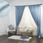 светлые шторы в комнату для мальчика в интерьере фото