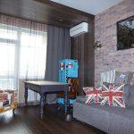 прозрачные шторы в комнату в интерьере спальни дизайн