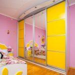 раздвижной раздвижной шкаф купе в детскую дизайн