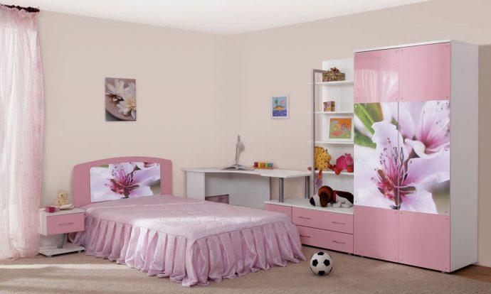 раздвижной шкаф купе в детскую спальню