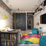 прозрачный раздвижной шкаф купе в детскую дизайн