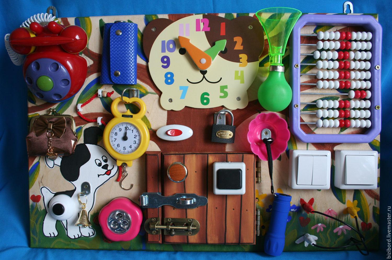 Доска с кнопками для ребенка своими руками 64