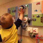 Доска для детей с замочками своими руками