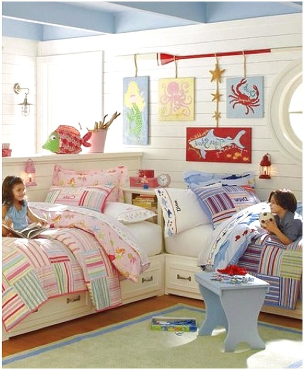 Reshenie detskoj dlya dvojnyashek for Decorating ideas for boy and girl sharing bedroom
