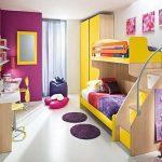 пример дизайна детской для двойняшек