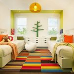 решение детской спальни для нескольких детей
