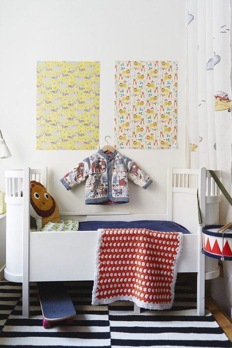 семейная детская комната в квартире