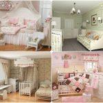 красивая спальня в стиле прованс для девочки картинка