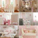 яркая спальня в стиле прованс для принцессы картинка