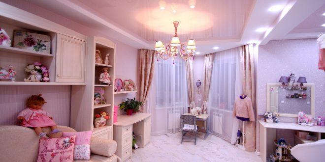 шикарная спальня в дизайне прованс для принцессы фото