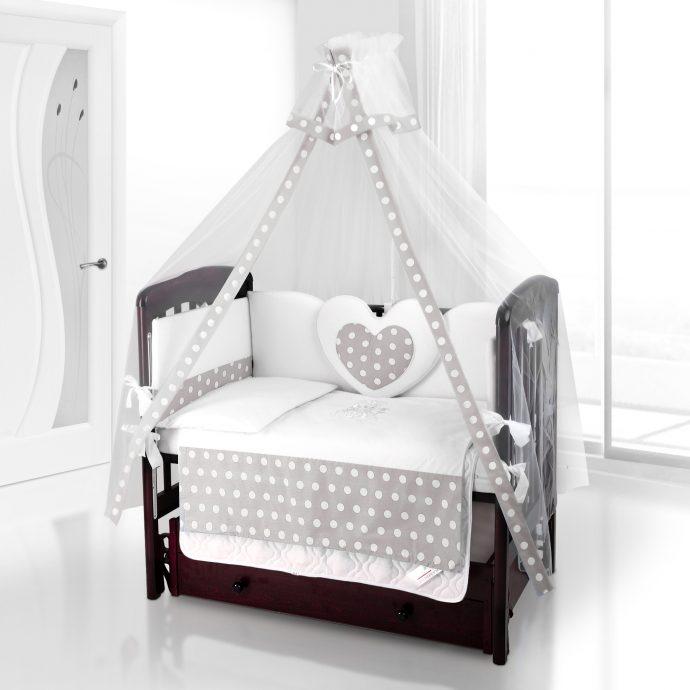 шикарный балдахин на кроватку в дизайне комнаты
