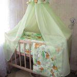 дизайнерский балдахин на кроватку дизайн фото