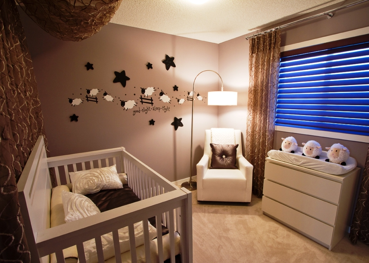 Комната для новорожденных своими руками