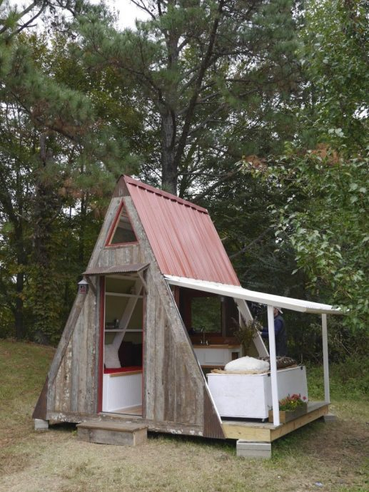 дизайн детского домика из дерева для дома