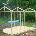 конструкция детского домика