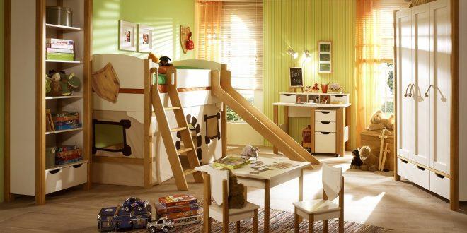 из дерева в детской комнате конструкция