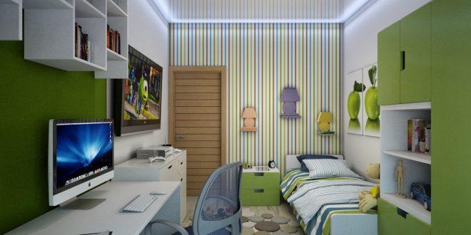 яркая комната для мальчика маленькая фото дизайна