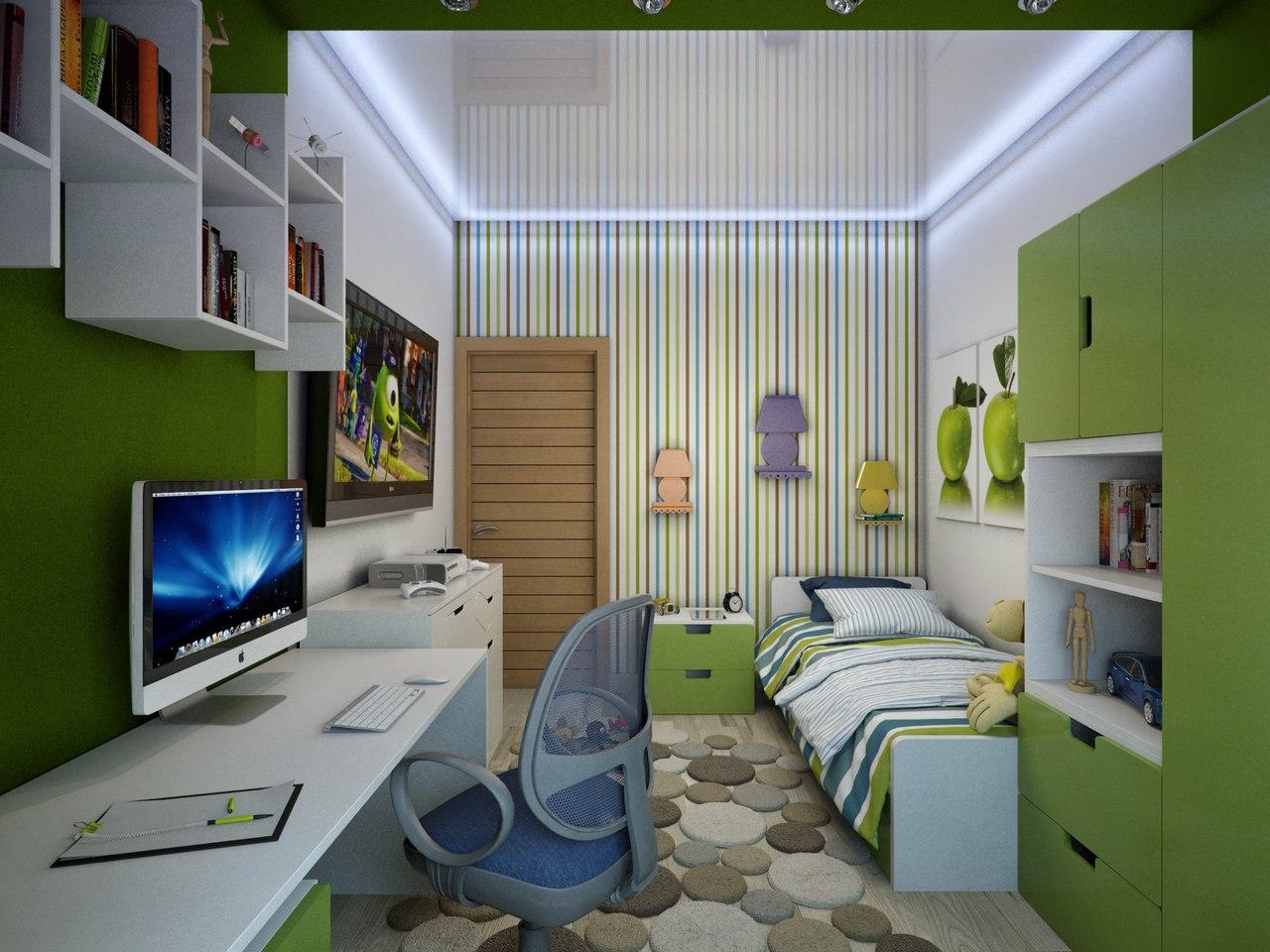 Интерьер детской комнаты 13 кв.м фото