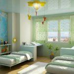 строгая комната для мальчика небольших размеров пример дизайна