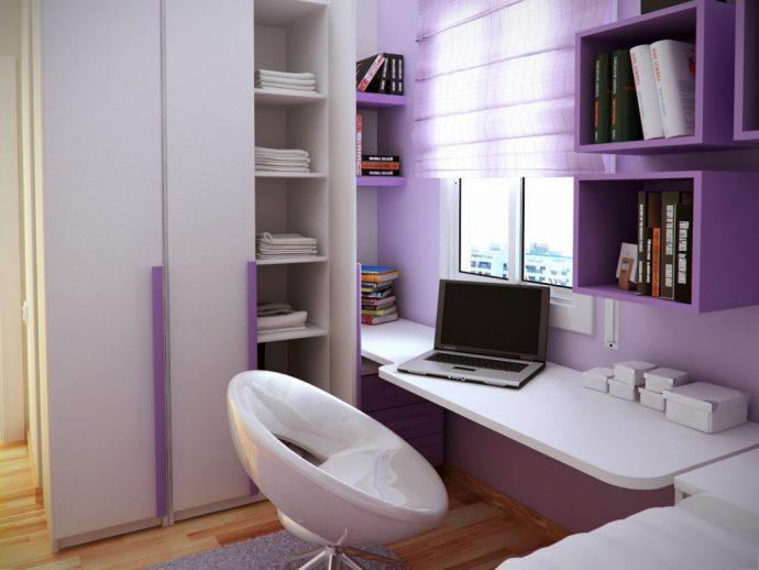 строгая спальня маленькая