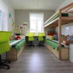 красивая детская комната для двух мальчиков интерьер картинка