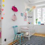 уютная детская комната в скандинавском дизайне