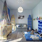 дизайнерская спальня в лофт стиле фото дизайна