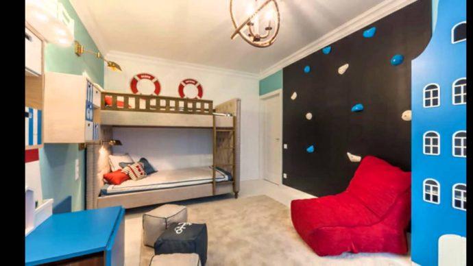светлая комната детская для двоих мальчиков дизайн