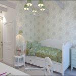 светлая детская спальня в стиле прованс для принцессы фото