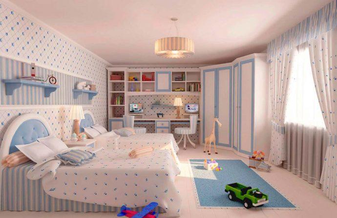 чудесная спальня для девочек