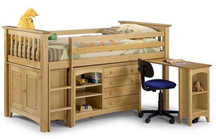 красивая детская мебель для мальчика в комнату пример фото
