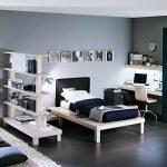 красивая мебель для мальчика в спальню пример фото