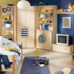 светлая мебель для мальчика в комнату фото