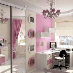 светлая мебель в детскую для девочки фото дизайна