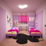 красивая детская комната для девочки фото