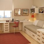 яркая детская спальня для девочки интерьер