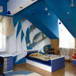 прозрачные шторы в комнату для мальчика в интерьере комнаты дизайн