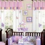 прозрачные шторы в комнату для девочки в интерьере дизайн