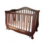 красивая кроватка для ребенка трансформер маятник для девочки из массива дерева