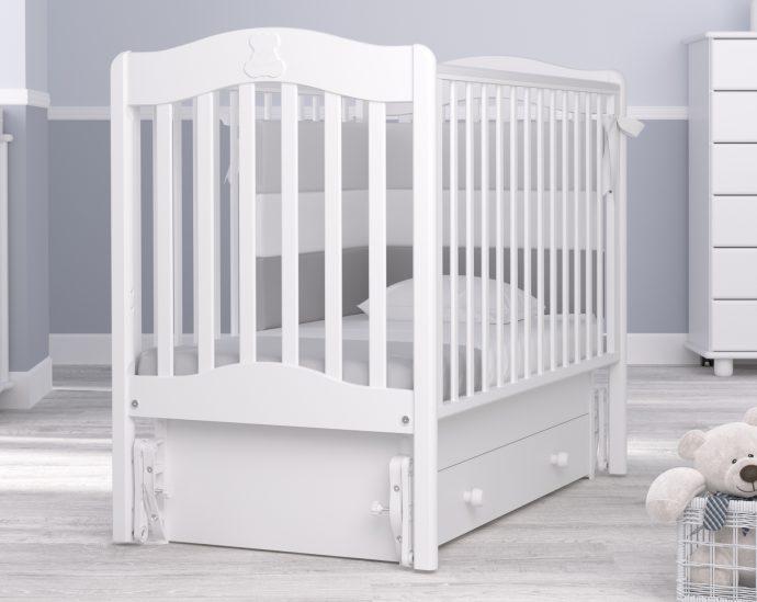 удобная детская кроватка маятник для девочка