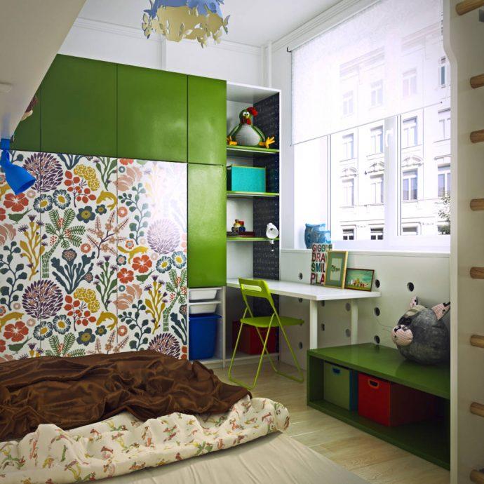 стильная детская комната в квартире
