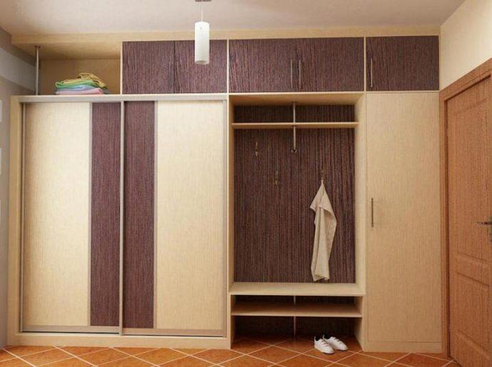 встроенный шкаф в прохожую