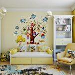 пример детской комнаты в мультяшном стиле