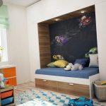 красивая спальня для двух мальчиков интерьер фото
