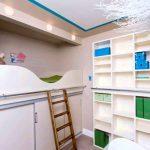 строгая спальня небольших размеров пример дизайна